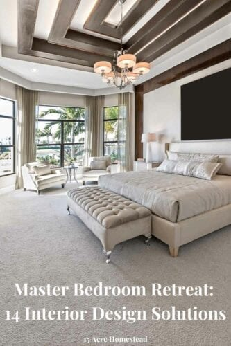 Create the master bedroom retreat of your dreams with these 14 interior design ideas today!