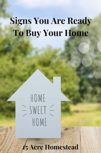 If you are unsure or feeling apprehensive about committing to buying a home, there will be some signs that you are ready to buy your home. But what are they?