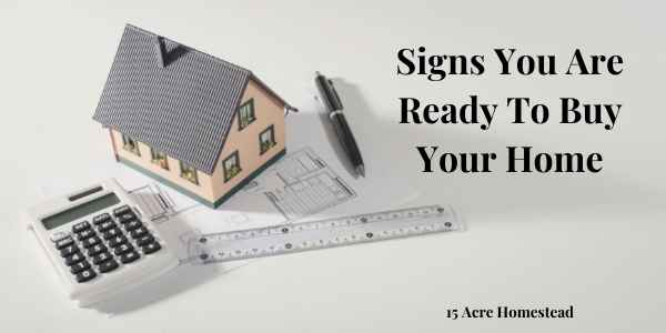 ready to buy your home