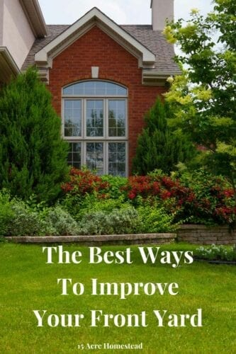 Your home's exterior sets the stage for what's inside. To increase the curb appeal you should be aware of the best ways to improve your front yard.