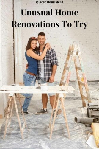 Here are some unusual home renovations to try for the home that you probably have never heard of.