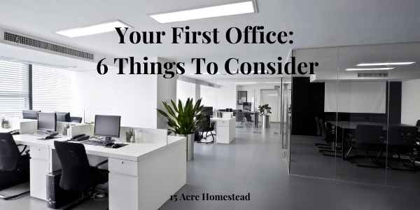 first office featured image
