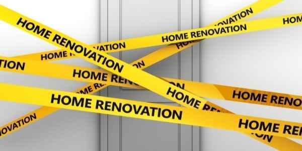 home renovation tape