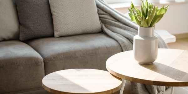 updated living room decor