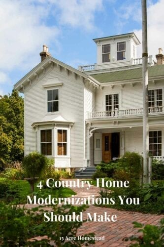 If you are looking to make some country home modernizations to your existing home, here are some cool tips to help you out in the process.