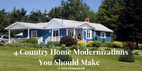 country home modernizations featured image