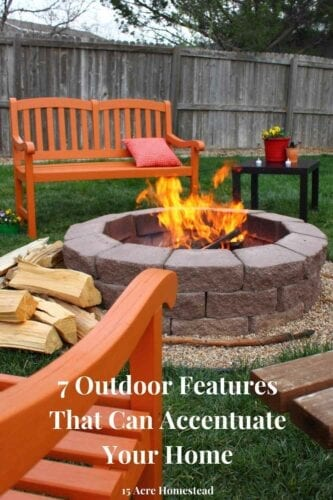 Use these creative outdoor features to turn your yard or garden into the oasis you want it to be.