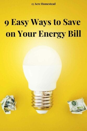 Making small changes on a consistent basis will save you more than trying to do big energy-saving ventures all at once. Here's a look at how you can easily cut down your energy bill.