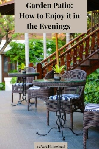 A garden patio is one of those outdoor features that offer a wide range of homeowner benefits, and gatherings that carry on into the night appear pretty high on that list for most.