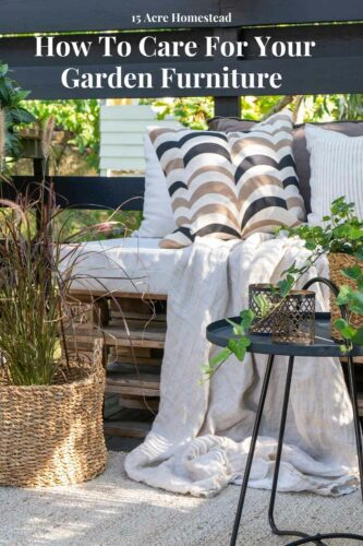 Having beautiful garden furniture makes your entertaining that much better but knowing how to take care of it is important too.