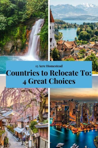 If you are considering making a big life change and trying to choose which of the countries to relocate to, think about all of the above choices and which place would suit you best.