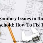 household sanitary issues featured image