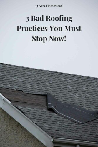 Here you will find three wrong and unhealthy roofing practices that you need to avoid that will keep your roof and your home healthy for many years to come.