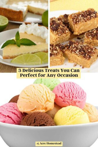 Check out the 3 delicious treats mentioned here to add to your recipe box when company with a sweet tooth shows up at your door.