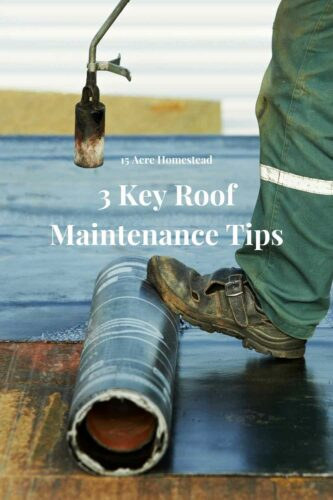 Use these three roof maintenance tips to keep up with the maintenance on your roof and save some money and time later on.