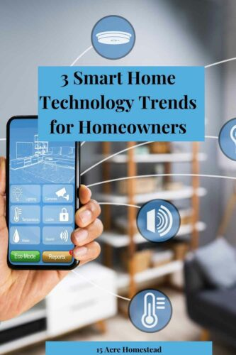 Using smart technological trends in your home you can turn your place into a more comfortable and unique place.