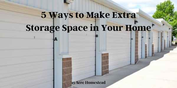 Extra storage space featured image