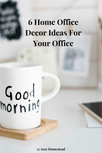 Try these 6 home office decor tips for your home office.