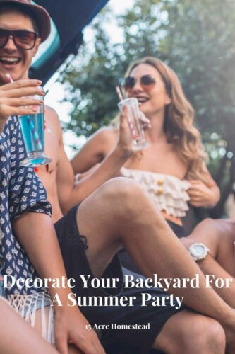 If you plan on having an outdoor party then these tips can help you decorate your backyard for the occasion.