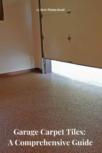If you're considering cleaning up your garage you may want to consider garage carpet tiles.