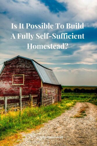In this post, we take a look at some of the ways that you might be able to build a fully self-sufficient homestead where you don't have to rely on the rest of society at all.