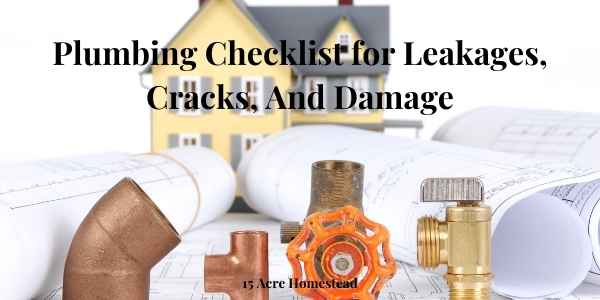 plumbing checklist featured image