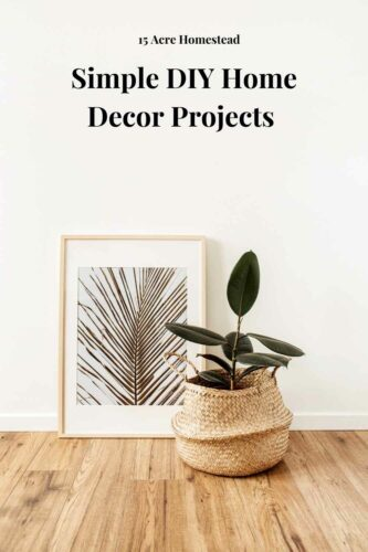 Check out these simple DIY home decor projects that you can easily do within your home today!