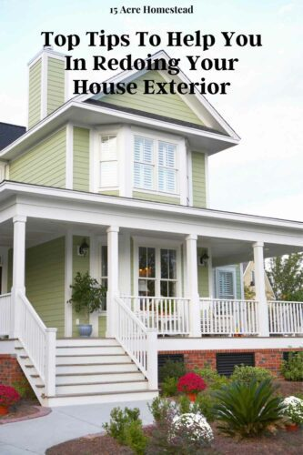 Learn how to redo your house exterior in this informative post.