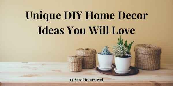 unique DIY Home Decor Ideas featured image