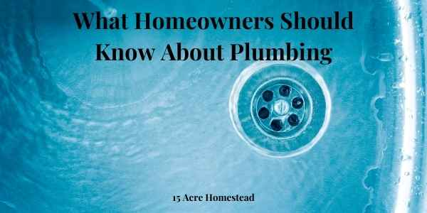 what homeowners should know about plumbing featured image