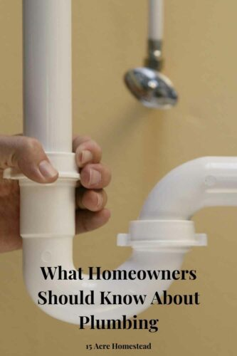 Learn what homeowners should know about plumbing in this post full of tips and suggestions.