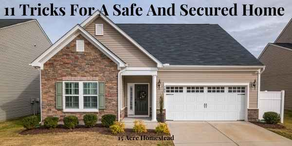 safe and secured home featured image