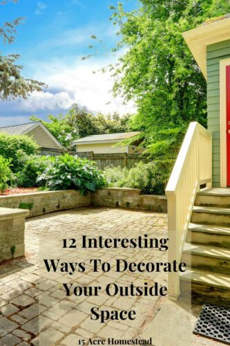 When you are ready to decorate your outdoor space, use the tips to get started.