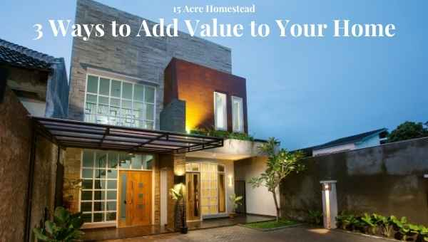 add value to your home featured image
