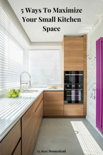 Learn all the tips to maximize your small kitchen space.
