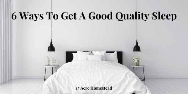 good quality sleep featured image