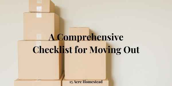 checklist for moving out featured image