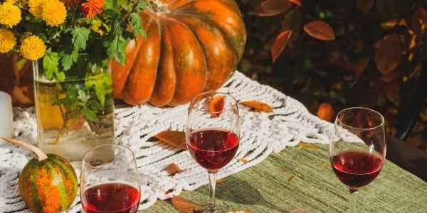 Fall table spread