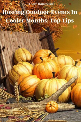 If you are thinking about hosting outdoor events this fall, use these tips to help you make it more successful!