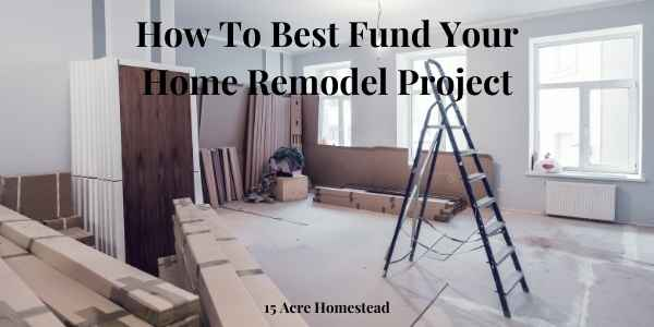 best fund your home remodel featured image