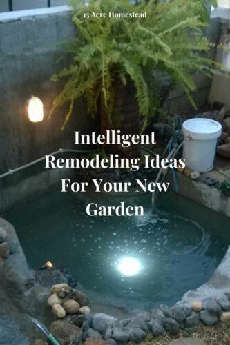 Any of these remodeling ideas for your garden is sure to take it to new heights and improve how your yard looks as a whole.