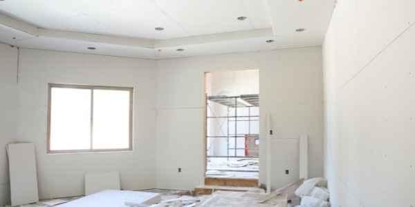Room being remodeled
