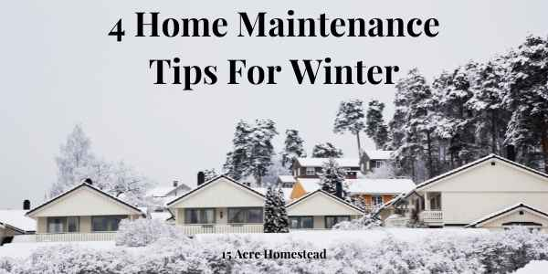 home maintenance tips for winter featured image