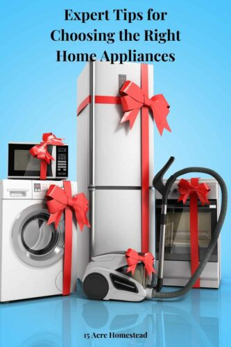 Industry experts agree that your spending money on the wrong home appliances is a more frequent occurrence than spending money on one that is worth it. It's not always easy to know how to choose the right appliance for your needs, but if you follow some expert advice, the process can be a lot easier.