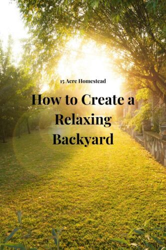 If you are ready to create a relaxing backyard then this post will help you have the backyard of your dreams.
