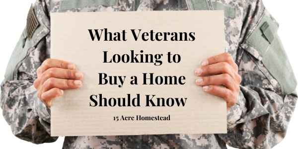 Veterans looking to buy a home featured image